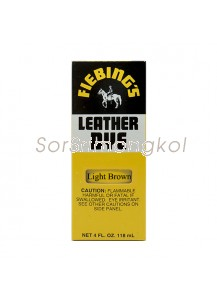 Fiebing's Light Brown Leather Dye - 4 oz