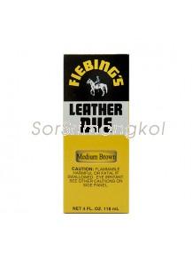 Fiebing's Med Brown Leather Dye - 4 oz