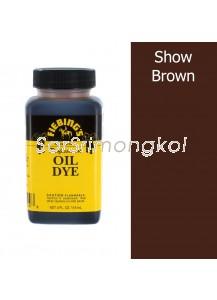 4 OZ FIEBING'S PRO OIL DYE - SHOW BROWN