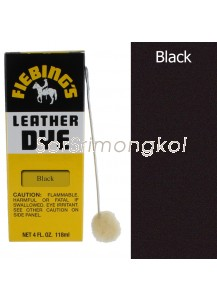 Fiebing's Black Leather Dye - 4 oz