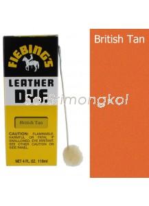 Fiebing's British Tan Leather Dye - 4 oz