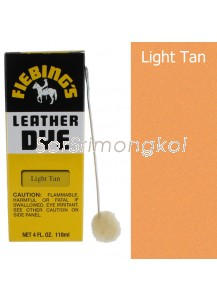 Fiebing's Light Tan Leather Dye - 4 oz