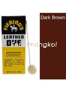 Fiebing's Dark Brown Leather Dye - 4 oz