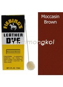 Fiebing's Mocassin Brown Leather Dye - 4 oz