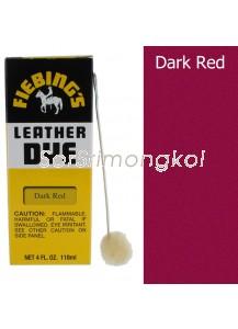 Fiebing's Dark Red Leather Dye - 4 oz