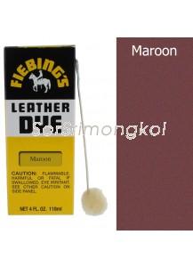 Fiebing's Maroon Leather Dye - 4 oz