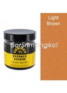 4 OZ FIEBING'S ANTIQUE FINISH - LIGHT BROWN