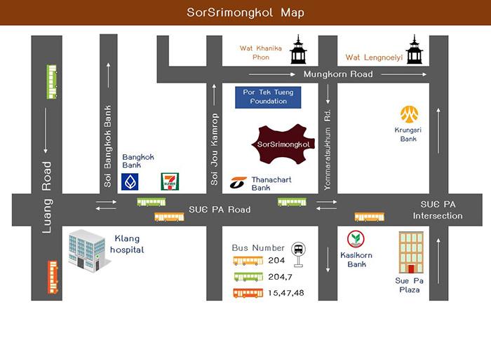 Map English Sorsrimongkol Leather Craft Supplies Bangkok Thailand ส.ศรีมงคล อุปกรณ์งานหนัง